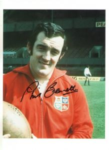 Welsh Rugby Star Phil Bennett